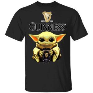 Baby Yoda Hug Guinness Beer Shirt Ls Hoodie