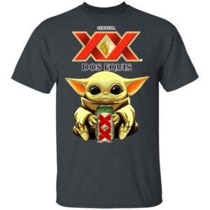 Baby Yoda Hug Dos Equis Beer Shirt Ls Hoodie