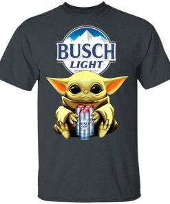 Baby Yoda Hug Busch Light Beer Shirt Hoodie Ls