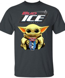 Baby Yoda Hug Bud Ice Beer Shirt
