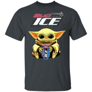 Baby Yoda Hug Bud Ice Beer Shirt
