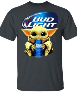 Baby Yoda Hug Bud Light Beer Shirt