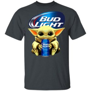 Baby Yoda Hug Bud Light Beer Shirt