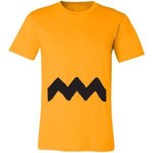 Charlie Brown Stripe Costume T-Shirt Ls Hoodie