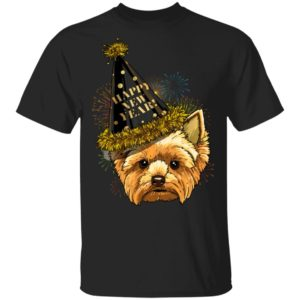 Yorkshire Terrier Happy New Year 2020 Dog T-Shirt