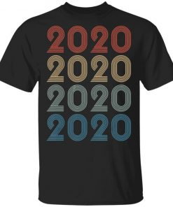 Vintage Happy New Year 2020 Birthday T-Shirt Ls Hoodie
