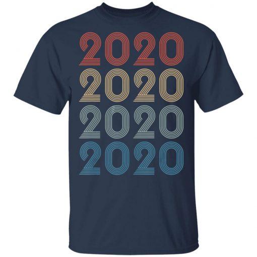 Vintage Happy New Year 2020 Birthday T-Shirt Ls Hoodie