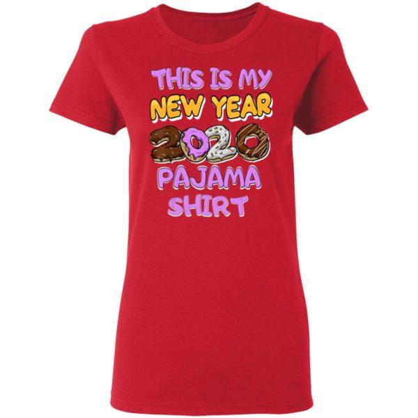 This Is My New Year 2020 Pajama Shirt Ls Hoodie