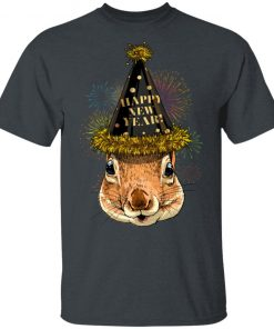 Squirrel Happy New Year 2020 Shirt Ls Hoodie