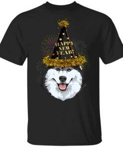 Siberian Husky Happy New Year 2020 Dog HPNY Shirt