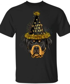 Rottweiler Happy New Year 2020 Dog HPNY T-Shirt