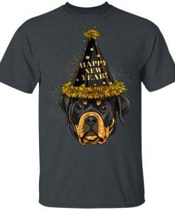 Rottweiler Happy New Year 2020 Dog HPNY T-Shirt