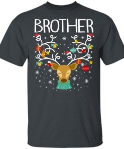 Brother reindeer christmas shirt