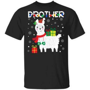 Brother llama christmas sweatshirt Hoodie Ls