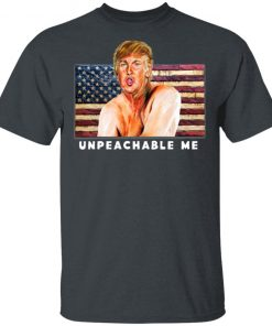 Diva Duds UNPEACHABLE ME Trump Anti Impeachment Trump Shirt