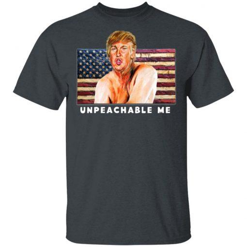 Diva Duds UNPEACHABLE ME Trump Anti Impeachment Trump Shirt