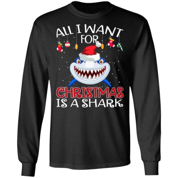 All i want for christmas is a shark christmas
