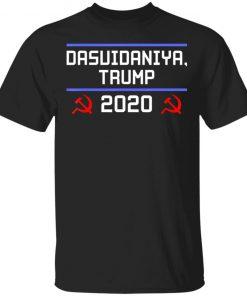 Dasvidaniya Trump 2020 Russia Anti-Trump T-Shirt Ls Hoodie