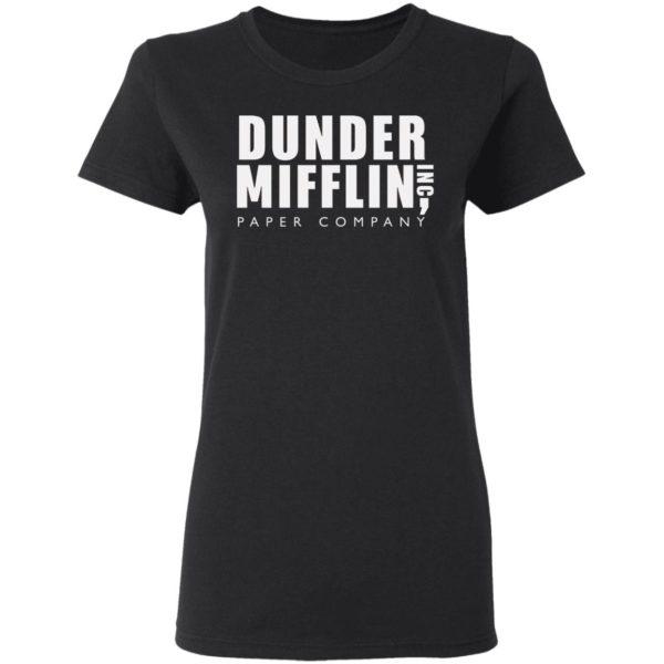 The Office Dunder Mifflin Inc Paper Company T-Shirt Ls Hoodie
