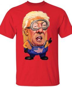 Donald Trump Minion President Shirt Ls Hoodie