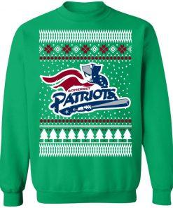 New England Patriots Ugly Christmas Sweatshirt