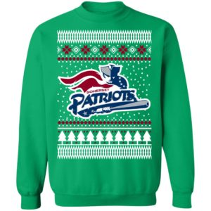 New England Patriots Ugly Christmas Sweatshirt