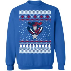 New England Patriots Logo Ugly Christmas sweater