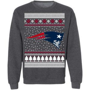 England Patriots Ugly Christmas Sweatshirt