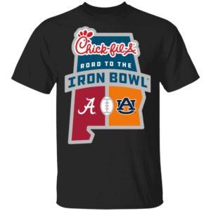 Chick Fil A Iron Bowl Shirt