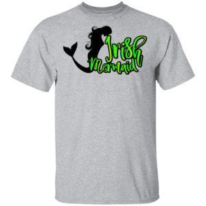 Irish Mermaid ST Patrick's Day Funny Shirt Raglan Hoodie