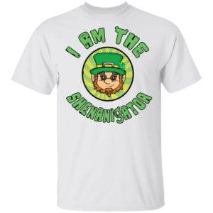 I Am The Shenanigator Leprechaun St Patrick's Day Funny Shirt