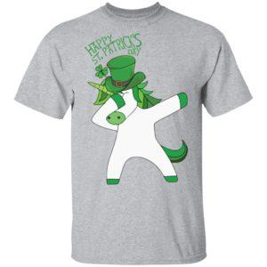 St Patrick's Day Funny Dabbing Unicorn Lepricorn Shirt Raglan Hoodie