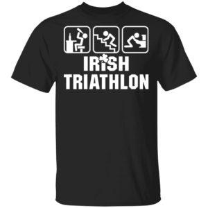 Irish Triathlon Funny St. Patrick's Day Shirt Ls Hoodie