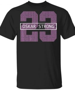 Flyers Fight Against Cancer Oskar Strong Ice Hockey T-Shirt