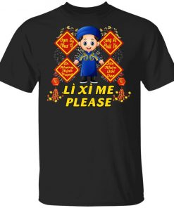 Boy Wish - Li Xi Me Please - Vietnamese Kid Lunar New Year T-Shirt