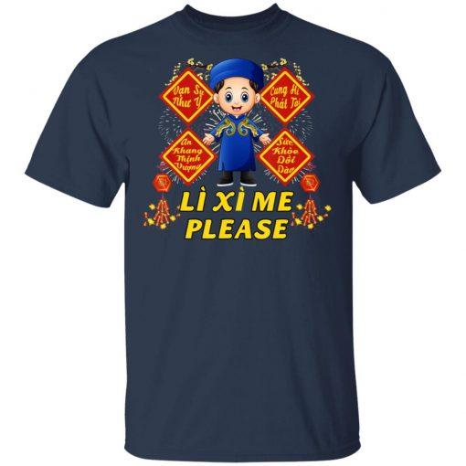Boy Wish - Li Xi Me Please - Vietnamese Kid Lunar New Year T-Shirt