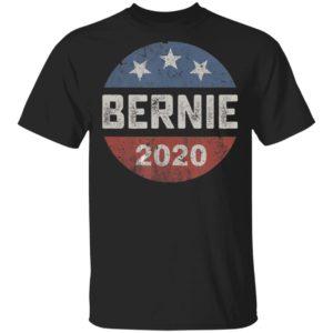Bernie 2020 Vintage Button Bernie Sanders T-Shirt Ls Hoodie
