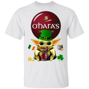 Baby Yoda Hug O'Hara's Irish Red Beer St Patrick's Day Shirt