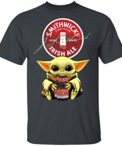Baby Yoda Hug Smithwick's Irish Red Beer Shirt Ls Hoodie