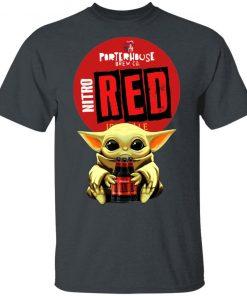 Baby Yoda Hug Porterhouse Red Irish Ale Beer Shirt Ls Hoodie
