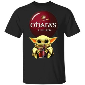 Baby Yoda Hug O'Hara's Irish Red Beer Shirt Ls Hoodie