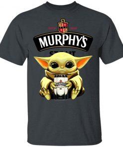 Baby Yoda Hug Murphy's Irish Stout Beer Shirt Ls Hoodie