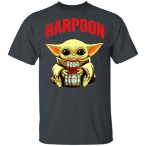 Baby Yoda Hug Harpoon Celtic Ale Beer Shirt Ls Hoodie