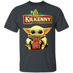 Baby Yoda Hug Kilkenny Cream Ale Beer Shirt Ls Hoodie