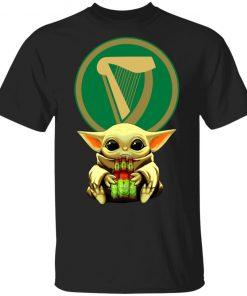 Baby Yoda Hug Harp Lager Beer Shirt Ls Hoodie