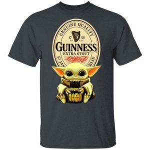 Baby Yoda Hug Guinness Special Export Beer Shirt Ls Hoodie