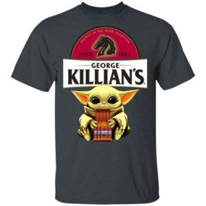 Baby Yoda Hug George Killian's Irish Red Beer Shirt Ls Hoodie