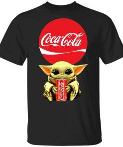 Baby Yoda Hug Coca Cola Red Shirt Ls Hoodie