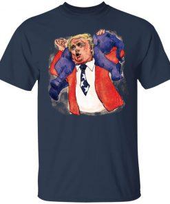Donald Trump Republican Elephant Shirt Ls Hoodie