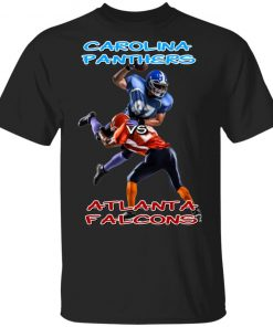Carolina Panthers vs Atlanta Falcons Shirt Ls Hoodie